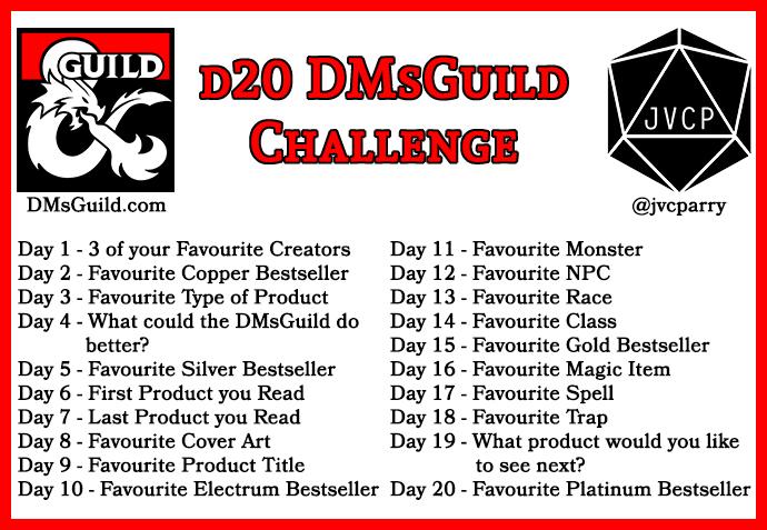 d20 DMsGuild Challenge