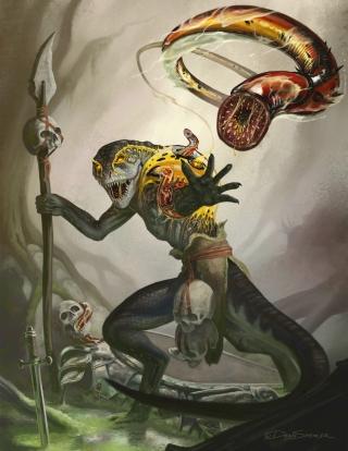 DeanSpencer-lizardman-host